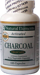 Activated Charcoal Capsules – 125 vegicaps